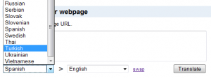 Google Translate Türkçe