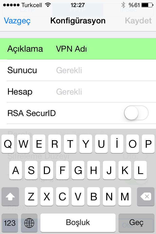 VPN adı