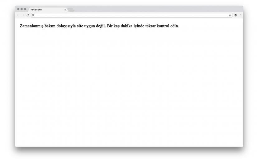 WordPress bakım modu: özelleştirme ve problem giderme
